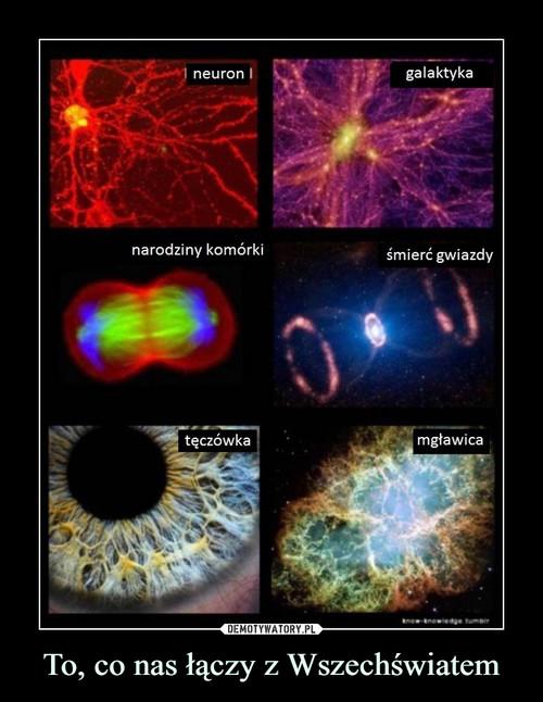 To, co nas łączy z Wszechświatem