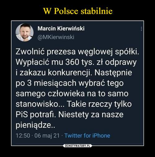 W Polsce stabilnie