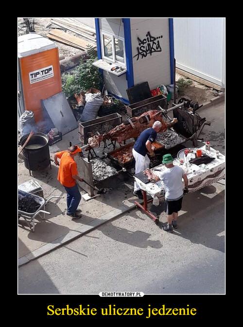 Serbskie uliczne jedzenie