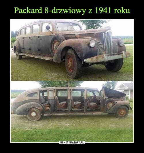 Packard 8-drzwiowy z 1941 roku